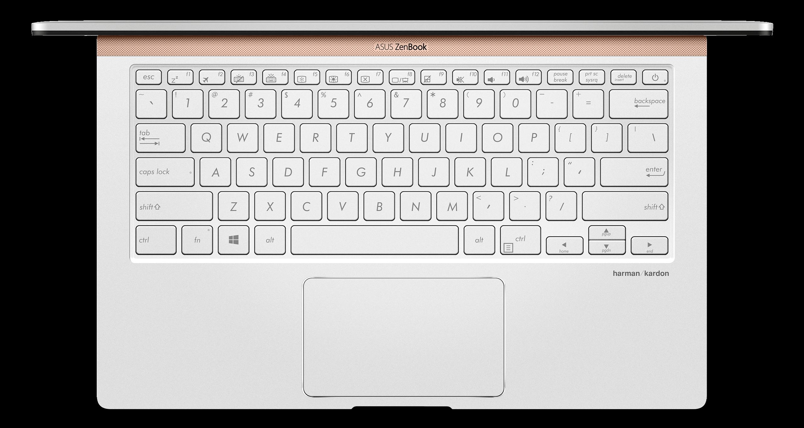 Tastatura i touchpad UX433